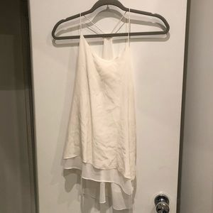 TOPSHOP white flowy top